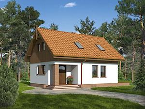 Projekt Domu - Murator M208 - Leśny wędrowiec