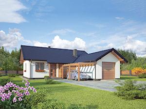 Projekt domu - Murator C310 - Rumiankowy