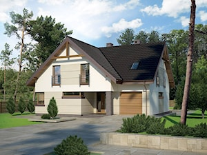 Projekt domu - Murator M133 - Optymalny