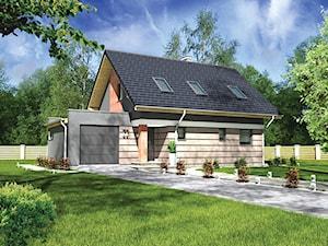 Projekt Domu - Murator C331 - Malowniczy