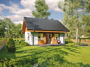 Projekt Domu - Murator C333i - Miarodajny wariant IX - zdjęcie od Murator PROJEKTY