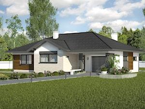 Projekt Domu - Murator C126b - Dom vis-à-vis wariant II