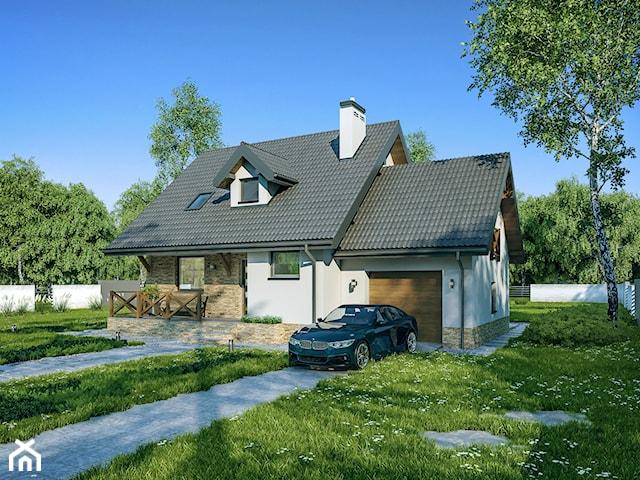 Projekt Domu - Murator C214c - Dom na rozstaju - wariant III