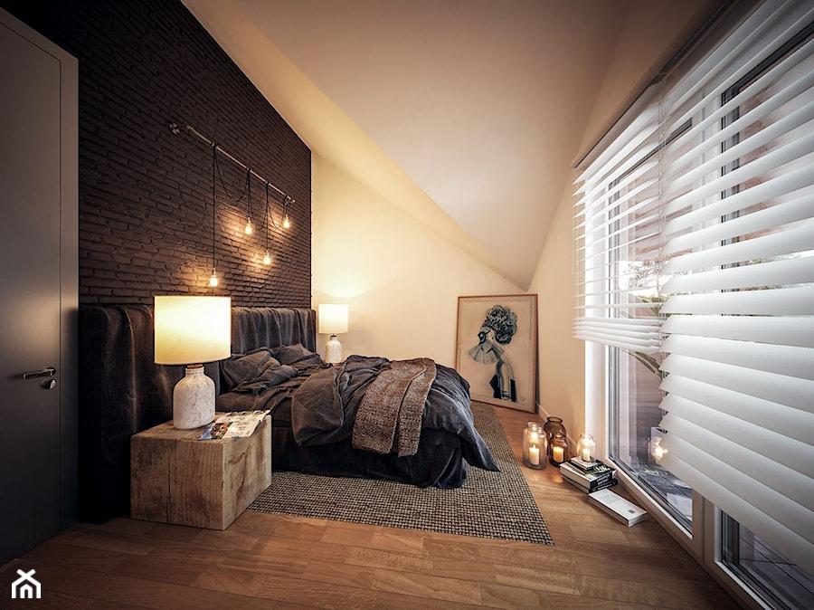Aranżacje wnętrz - Sypialnia: Projekt Domu - Murator C203 - Szczupły - Murator PROJEKTY . Przeglądaj, dodawaj i zapisuj najlepsze zdjęcia, pomysły i inspiracje designerskie. W bazie mamy już prawie milion fotografii!