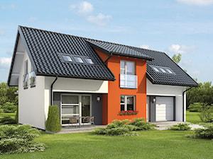 Projekt domu - Murator C290 - Sąsiedni