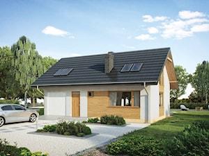Projekt domu - Murator C117h - Codzienny - wariant VIII