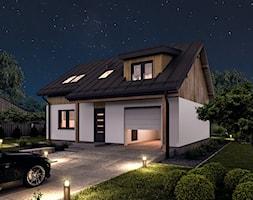 Projekt domu - Murator C386 - Logiczny - Domy, styl tradycyjny - zdjęcie od Murator PROJEKTY - Homebook