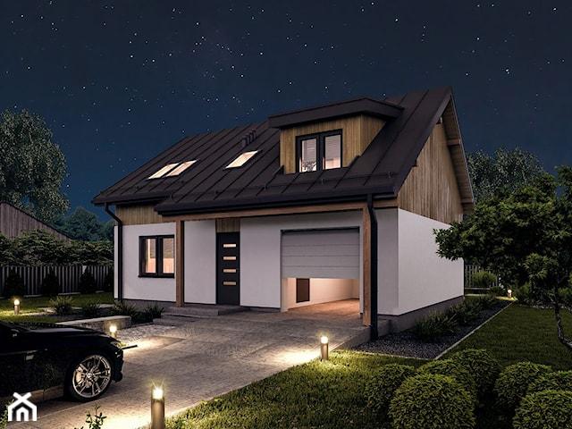Projekt domu - Murator C386 - Logiczny