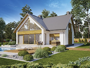 Projekt Domu - Murator M231 - Piękny widok