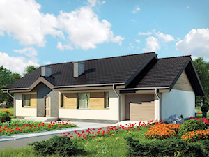 Projekt domu - Murator C107a - Kształtny wariant I