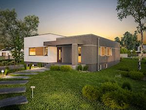 Projekt domu - Murator C340a - Powściągliwy - wariant I (podpiwniczony)