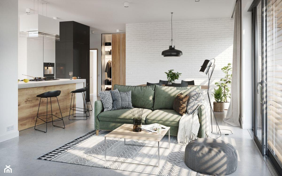 jak dobrać kolor ścian do szarej podłogi