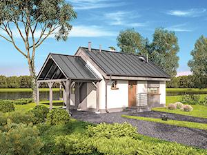 Projekt domu - Murator EC400 - Ze świetlikami