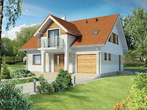 Projekt domu - Murator C236 - Trafny