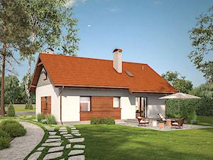 Projekt domu - Murator C01c - Pod tęczą - wariant III