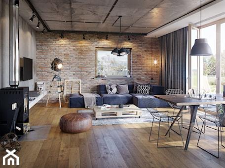 Aranżacje wnętrz - Salon: Projekt Domu - Murator EC117f/C117f - Codzienny wariant VI - Murator PROJEKTY . Przeglądaj, dodawaj i zapisuj najlepsze zdjęcia, pomysły i inspiracje designerskie. W bazie mamy już prawie milion fotografii!