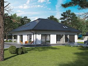 Projekt Domu - Murator C329 - Tymiankowy