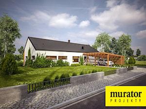 Projekt Domu - Murator EC317a - Dom oszczędny wariant I