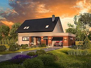 Projekt domu - Murator C341a - Przedwiośnie - wariant I