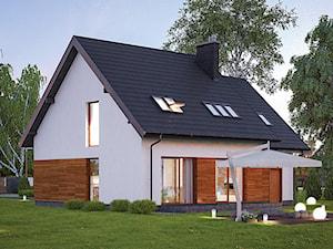 Projekt domu - Murator C33a - Rozważny wariant I