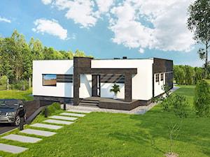 Projekt domu - Murator C340 - Powściągliwy (podpiwniczony)