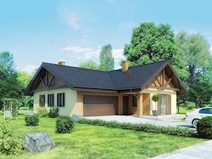 Projekt domu - Murator C287 - Określony