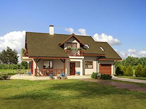 Projekt Domu - Murator C358 - Małe ranczo