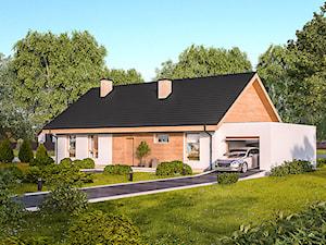 Projekt domu - Murator C316a - Z perspektywą - wariant I