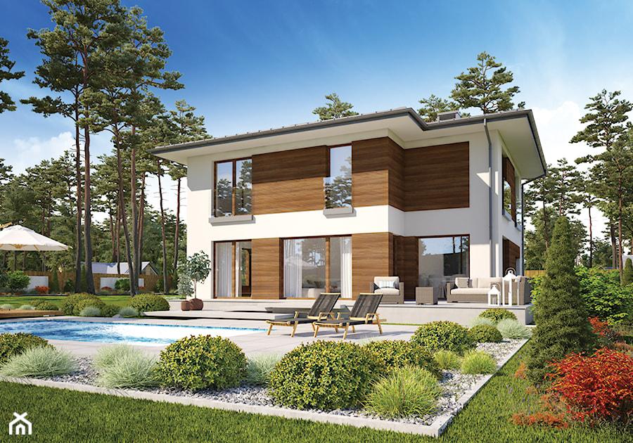 Projekt Domu - Murator M232 - Wieczorny pejzaż - zdjęcie od Murator PROJEKTY