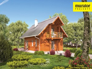 Projekt Domu - Murator DL14S - Marzycielski
