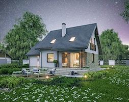 Projekt+Domu+-+Murator+C214c+-+Dom+na+rozstaju+wariant+III+-+zdj%C4%99cie+od+Murator+PROJEKTY