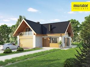 Projekt Domu - Murator C221a - Racjonalny wariant I