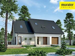 Projekt Domu - Murator M210a - Jasna przestrzeń wariant I