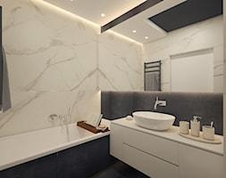 łazienka z marmurem - zdjęcie od AIN projektowanie wnętrz