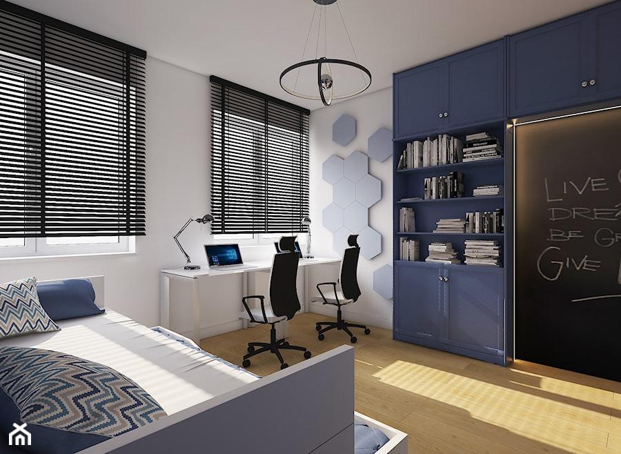 3f60f23ed45aa Aranżacje wnętrz - Pokój dziecka: Mieszkanie na Woli c.d pokój chłopaków -  AIN projektowanie wnętrz