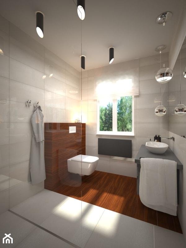 łazienka Z Dodatkami Szarymi Zdjęcie Od Ain Projektowanie