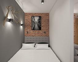 Kawalerka sypialnia - zdjęcie od AIN projektowanie wnętrz