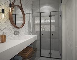 Dom na Mazurach- łazienka - zdjęcie od AIN projektowanie wnętrz