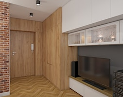 Kawalerka salon - zdjęcie od AIN projektowanie wnętrz