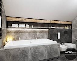Łazienka w industrialnym klimacie - zdjęcie od MONOstudio - Homebook