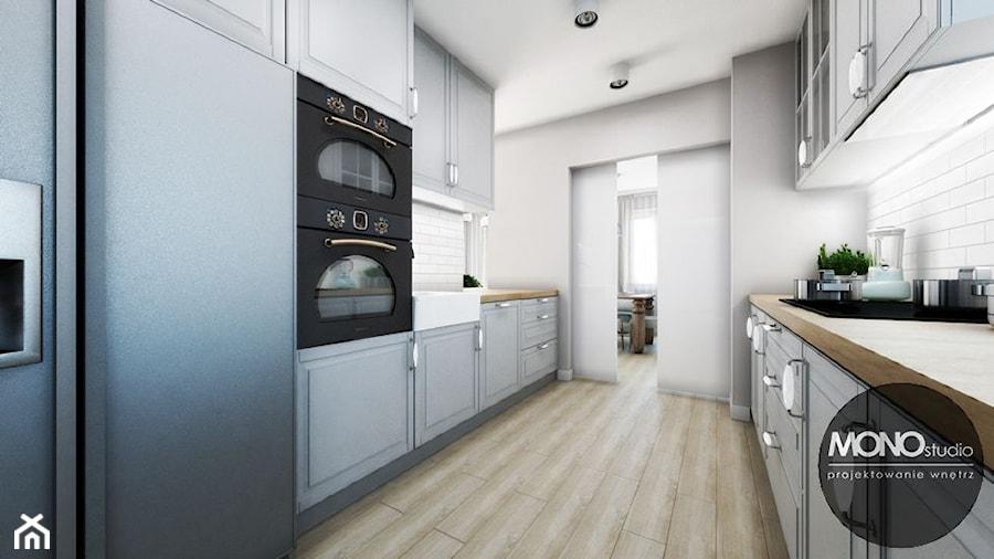 Kuchnia Ze Stylizowanym Wyposażeniem Zdjęcie Od Monostudio