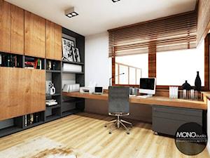 Gabinet w drewnie - zdjęcie od MONOstudio