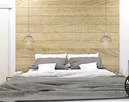 Sypialnia w klimacie skandynawskim - zdjęcie od MONOstudio