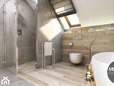 Łazienka w nowoczesnym klimacie - zdjęcie od MONOstudio