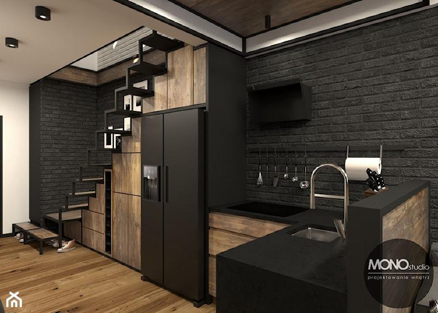 Kuchnia w stylu industrialnym - zdjęcie od MONOstudio