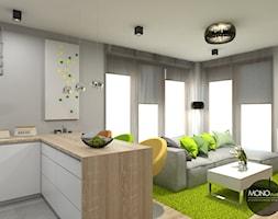 Otwarte+przestrzenie+salonu+i+kuchni+-+zdj%C4%99cie+od+MONOstudio