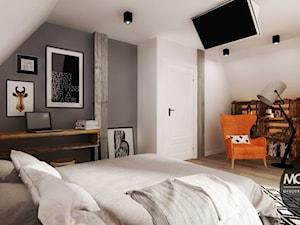 Sypialnia w skandynawskim klimacie - zdjęcie od MONOstudio
