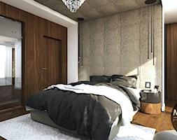 Sypialnia w nowoczesnym klimacie - zdjęcie od MONOstudio - Homebook