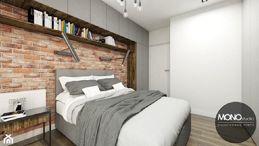 Sypialnia W Stylu Industrialnym Zdjęcie Od Monostudio