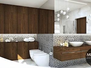 Łazienka w nowoczesnym stylu - zdjęcie od MONOstudio